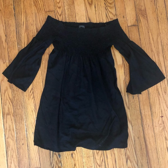 Zara Dresses & Skirts - Zara Small Black Off The Shoulder Dress